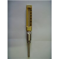 Industrial glass thermometer,Marine metal protective sleeve thermometer