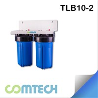 2 Stage Whole Housing Water Filtration with 10 Inch Big Blue FIlter Housing