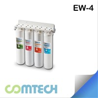 4 Stage Water Purifier with Twist-Changed Filter Cartridge