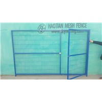 Bule Green Color Canada Temporary Fence