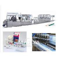 Ampoule Blister packing Cartoning packaging Line