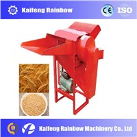 Small farm use grain wheat rice threshing sheller machine