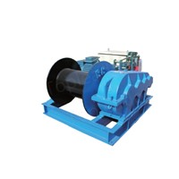 JM6 Slow speed heavy duty construction winch for crane