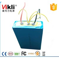 Prismatic size and 12 voltage 10Ah solar lithium battery