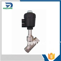 Stainless Steel Sanitary Female Thread Angle Seat Valve