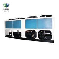 1715kw Central Air Conditioner Air Cooled Double Screw Compressor Water Chiller