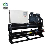 312rt Double Compressor Low-Temp X-Type Water Cooled Screw Chiller