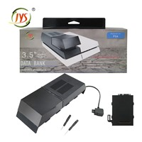 Console replacement data bank for PS4 hard drive enclosure