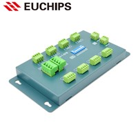 1A 24 channel 12-24VDC 288~576W DIP Switch constant voltage dmx decoder PXL24-1-576