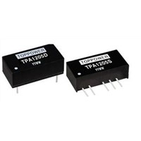 1W Isolated Single & Dual Output DC/DC Converters TPA1