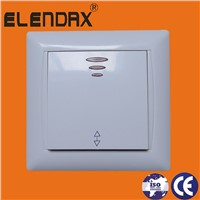 European Wall Light Switch (F6101)