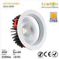 AC85-265 high power dimmable 30w cob led downlight 3 years warranty cob led downlight 30w