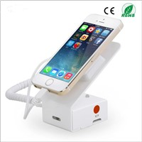 mobile phone charger display stand with alarm and charging