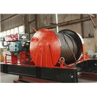 Hot sale wire rope diesel winch for marine using