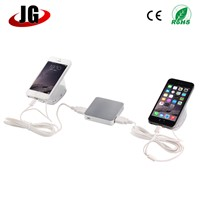 multi port alarm display stand for mobile and tablet