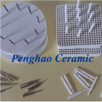 Round Dental Honeycomb Firing Tray ( metal pins & ceramic pins)