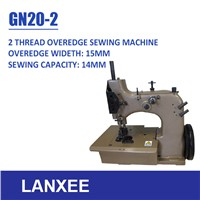 Lanxee GN20-2 Single Needle Double Thread Overedging Sewing Machine