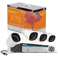 PLC IP Cameras NVR CCTV Security System