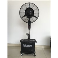 Mobile Water Spray Misting Fan