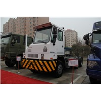 Sinotruk Hova 4*2 Terminal Tractor Truck for Sale