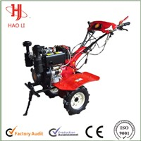 The new products diesel tiller cultivator with double air filter