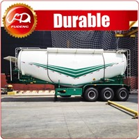 Fudeng 3 Axle 60cbm Powder Material Truck Bulk Cement delivery truck For Sale In Indonesia