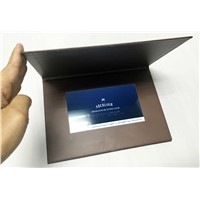 China factory supply competitive price 7 inches lcd brochure/lcd video card for business promotion