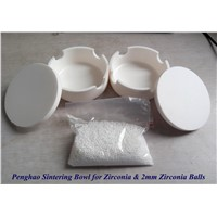 Dental Ceramic Sintering Crucible (Bowl) For Zirconia Crown Sintering