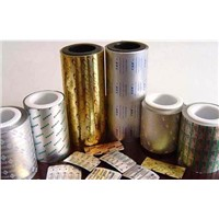 Pharmaceutical aluminium foil tablets and pills package