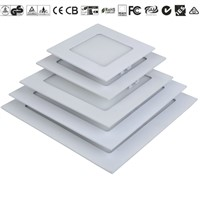 Ultra Thin 12W/15W/18W/24W Recessed Square LED Panel Light