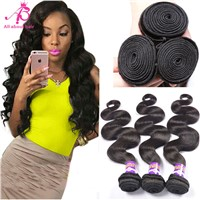 Brazilian body wave hair bundles human hair weave