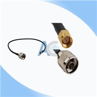 N Male to SMA Male feeder antenna coaxial cable