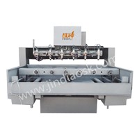 3D CNC Stone Engraving Machine with 6 Heads