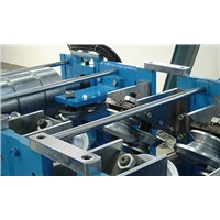 Ceiling panels roll forming machine, roll former, rollers form with hydraulic profile cutter