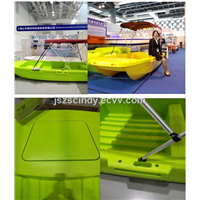 2016 New super plastic alloy materials motor boat for sale