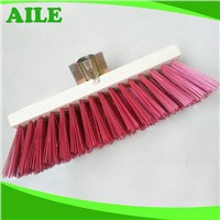 New Popular Hard Wooden Broom With Plastic Hair For Dust Cleaning