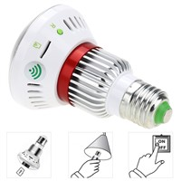 Night Vision Motion Detector CCTV Surveillance Bulb Camera