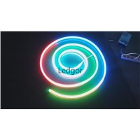 Programmable led neon flex RGB color