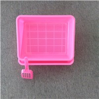 plastic sifting litter box with free scoop