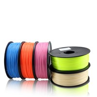 Top quality 3D printer filament PLA 1.75mm/3.0mm 1kg/spool with 38 colors