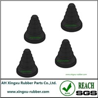 rubber stepped cable grommet