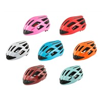 2016 New design bicycle helmet with intergrated fans and LED light