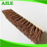 High Quality Sisal Hair Garden Cleaning Tool Brush With Wooden Handle