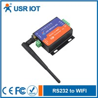 Wifi Serial Server with RS232 Terminal Interface