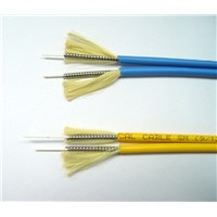 Zipcord Armored Optical Fiber Cable
