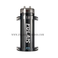 7.0 Farad Car Audio Capacitors with 3-digital voltage blue LED lights