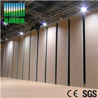 high density MDF leather finish movable partition wall panel board for office