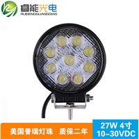 12V 27w 4inch Truck Boat Off road Led Working Light