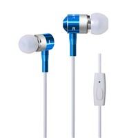 Metal Stereo In-Ear Earphone Earbuds Auriculares for Samsung for iPhone Earphones with Microphone