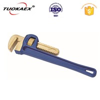 Non sparking pipe wrench antimagnetic tools explosion proof tools